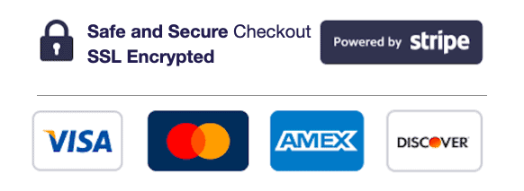 Safe and Secure Checkout Powered by Stripe