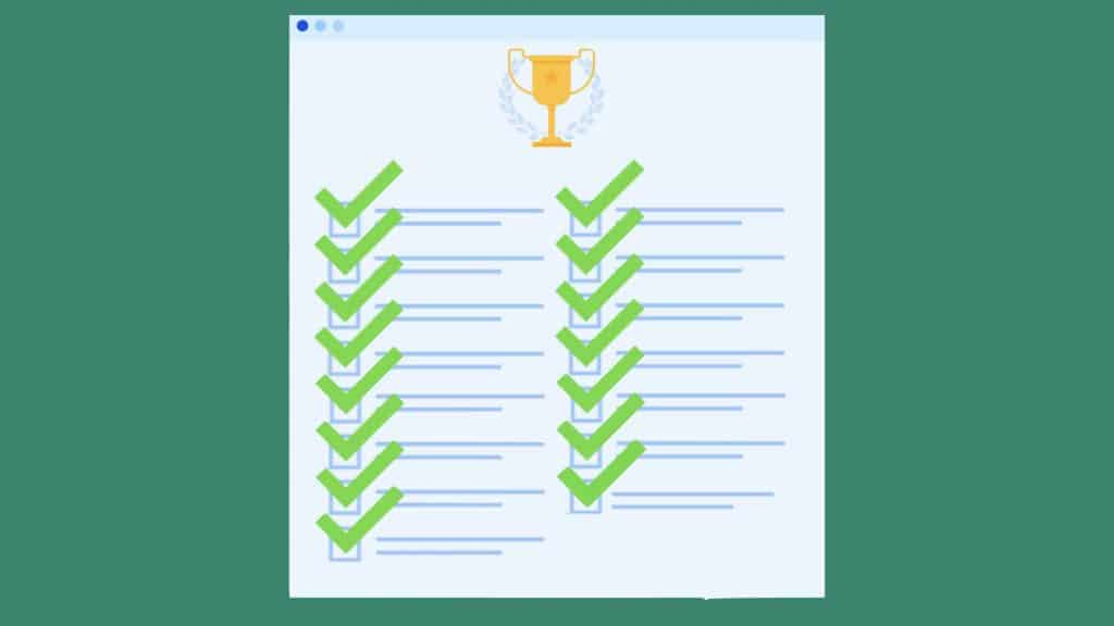 Sample list of accomplishments for performance review (for 15 different job titles)