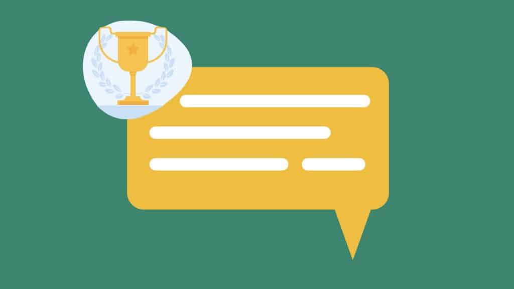 What is an accomplishment for a performance review?