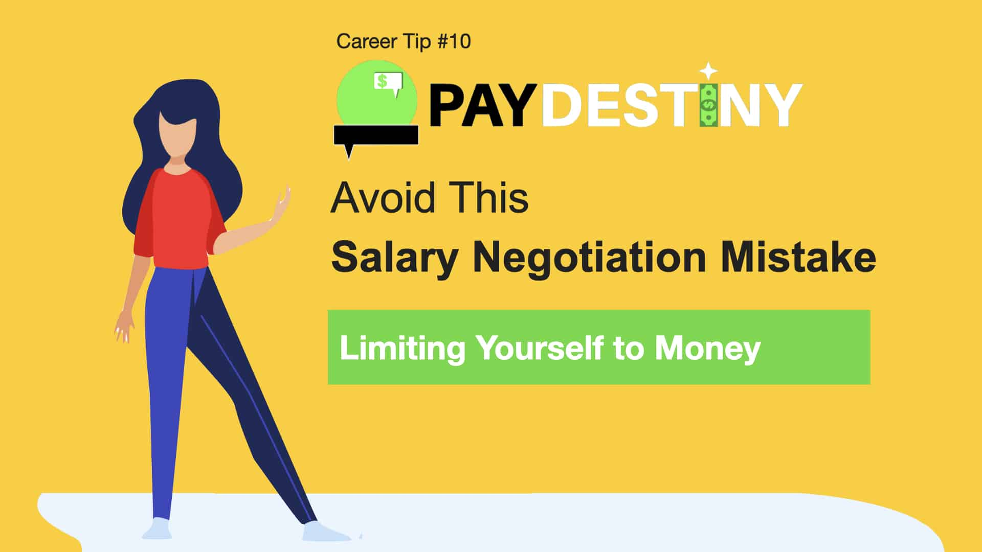 Salary Negotiation Mistake (Limiting Yourself to Money)